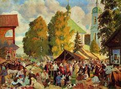 Boris Kustodiev (1878-1927) Russian Artist and Stage Designer ~ Blog of an Art Admirer