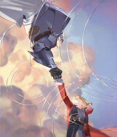 #FullmetalAlchemist #Edward #Elric #Alphonse #Elric