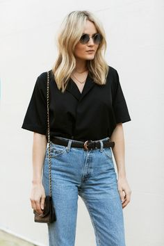 Found the perfect jeans! Find a similar pair here: http://asos.do/CBsi2I Top: http://asos.do/2u3ggD Bag: http://asos.do/eUrL3a Sunglasses: http://asos.do/Ga5ASI