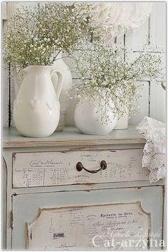 Inspirations: shabby chic on kokoshka.PL - home + interiors + Decoration + inspiration + DIY