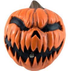 The Scary Jack-o'-Lantern Screamer has a light-activated sensor that plays a loud scream. Startle your Halloween party guests by hiding this plastic jack-o'-lantern toy in your house! Pumpkin Halloween Costume, Halloween Costume Shop, Halloween Masks, Halloween Costumes For Kids, Happy Halloween, Halloween Party, Scary Halloween Pumpkins, Spooky Scary, Halloween Ideas