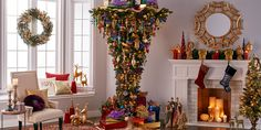 I need to hang my upside down tree this year. Mine is much smaller & hangs over the dining table.