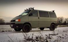 Vw Transporter Conversions, T4 Transporter, Vw T4 Syncro, Volkswagen, T4 Camper, 4x4 Van, Camper Interior, T 4, Van Life