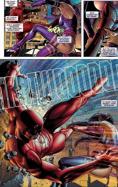 Daredevil vs Psylocke (AvX#4).