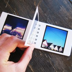 "Instagram photos in a special little book. The photos are printed back to back on cardstock with a glossy photo-finish. Its a simple product, but a good one. Photos are printed at just about the same size they appear on your iPhone.  The minibook measures just 3.5"" inches x 2.4"" inches ( 90mm x 60 mm ) and each book has 50 photos in it. Each order comes with 2 books."