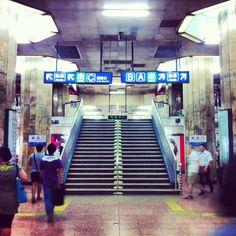 Beijing Subway Line 2•  ChaoYangMen