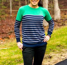 41HAWTHORN Rowson Colorblock Striped Sweater - Stitch Fix