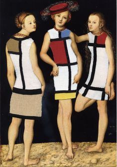 Cranach: The Three Graces in YLS - Nudes dressed again | Fanny Viollet