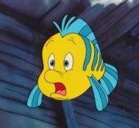 Flounder, Little Mermaid #Disney