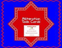 $ Alliteration Task Cards