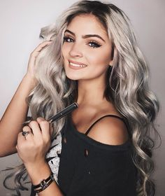 O my gosh Carrington's hair is so perfect! get it in seconds ! you only need 3 bundles hair exntensions or hair toppers,we will dye the hair for you in previous Blonde Wig, Blonde Color, Ash Blonde, Carrington Durham, Morning Hair, Hair Toppers, Natural Blondes, Pastel Hair, Dream Hair