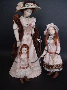 DECADES OF DAUGHTERS 1900 by Debbie DP, via Flickr