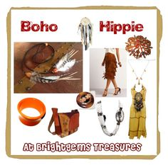 """""""Boho Hippie Thats ME"""" by brightgems on Etsy and Polyvore featuring Bohemian jewelry and fashions"""