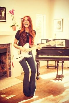 Christina Perri. Her hair is perfect. Loving and wanting it.