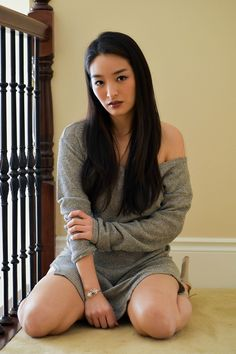 Excited to share my latest #OOTD with you guys. I centered today's post around three new fabulous closet additions:  my Trollbeads bangle (with all new charms), my slouchy beige knit, and huge platform pumps.  >>>Click to see more: http://bit.ly/2iA6kzh.  #asian #korean #editorial #beige #neutrals