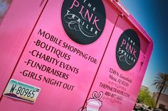 wonderful way to give back Mobile Boutique, A Boutique, Boutique Ideas, Mobile Fashion Truck, Pink Trailer, Mobile Spa, Mobile Business, Gypsy Rose, Craft Show Displays
