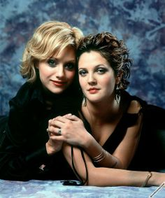 Drew Barrymore and Brittany Murphy