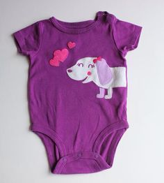 c528bbf66 Carter's One-Piece Bodysuit, Baby Girl Size 3 Months. Baby Clothes Resale  $2.00