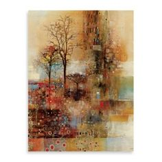 "John Douglas, ""Golden Park"" Canvas Wall Art - BedBathandBeyond.com"