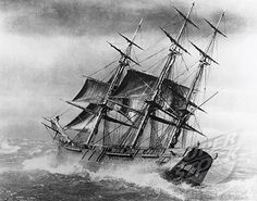 Clipper Ship, Artist Unknown