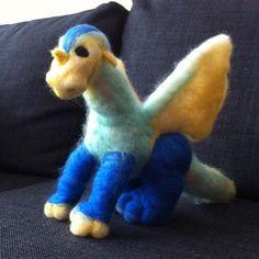 Needle Felting, Personalized Gifts, Dinosaur Stuffed Animal, Dragon, Animals, Personalised Gifts, Animais, Animales, Animaux