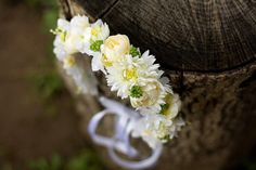 Wedding Hair Accessories – Flower head wreath,floral head wreath,flower crown –…