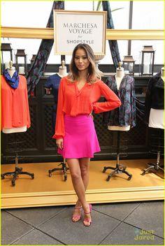 Jamie Chung Owns New York Fashion Week Everyone