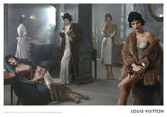 The Louis Vuitton Fall 2013 Campaign Features an All-Star Cast trendhunter.com