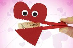Pince à linge Coeur - Fête des Mères – 10doigts.fr
