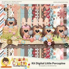 Kit digital Little Porcupine