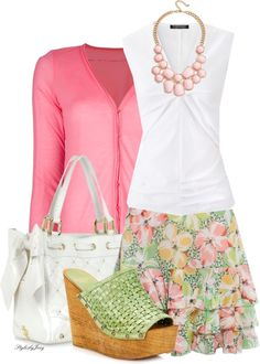"""Summer Colors"" by stylesbyjoey on Polyvore"