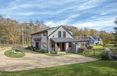 The Barnstable is a coastal barn home, inspired by Yankee Barn Home's very own Oyster Shores. Coming in at 3,098 square feet of living space, the home boasts 5 bedrooms and 5 1/2 bathrooms, i…