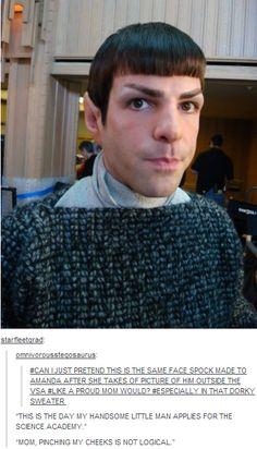 hahahahaha the last comment got me XD #Spock #StarTrek