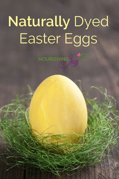 Naturally Dyed Easter Eggs | NourishingJoy.com