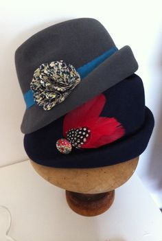 Hand blocked Trilby by millyspaven