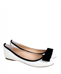 Paul Smith Shoes Womens White Bramble Logo Suede Bow Flat Ballet Pumps Cute Flats, Bow Flats, Bramble, Designer Clothes For Men, Uk Shop, White Fashion, Paul Smith, Footwear, Ballet