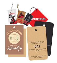 Custom Tags ☎️ The Custom Tags generally include the size, colour and other specifications about the garment. It's advised to use flashy, bright colour tags, stylish tags so that the customers can spot them easily. Door Hanger Printing, Product Tags, Color Tag, Positive Images, Custom Tags, Clothing Tags, Quality Printing, Photo Quality, Hang Tags