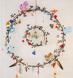 Christmas fun wreath