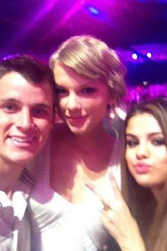 With Keegan Allen and Selena Gomez at TCA !!