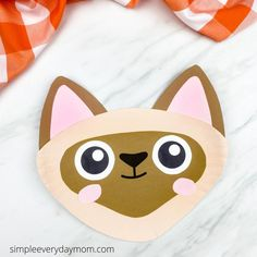 Looking for some pet themed crafts for kids? This paper plate cat is a fun and easy activity for kindergarten and elementary children. Download the free template today! Kindergarten Activities, Craft Activities, Paper Plate Crafts For Kids, Crafty Kids, Cat Crafts, Paper Plates, Fun, Manualidades, Do It Yourself