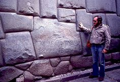 You tell ME how the Incans precision-cut these bricks. ;) Cuzco, Peru