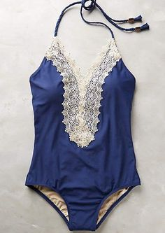 Lace-Front Maillot #anthrofave