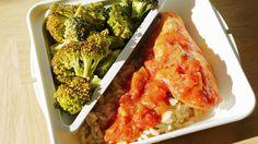 Polskie South Beach: Co brać do pracy: pikantny kurczak i brokuły