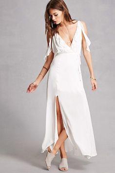 Indikah Belted Maxi Dress   Forever 21 - 2000094082