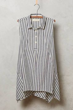 Stripe Plane Tunic by Isabella Sinclair #anthrofave