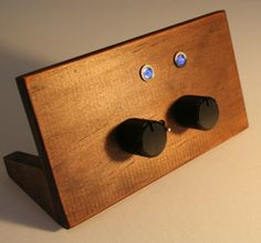 EMTronic    Wooden noise synth    Make music by rarebeasts on Etsy, $119.00