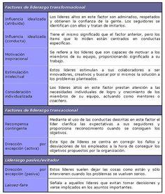 LA MEDICIÓN DEL LIDERAZGO TRANSFORMACIONAL Y TRANSACCIONAL EN ESPAÑA A TRAVÉS DEL MLQ
