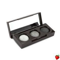 Laura Mercier Petite Baked Eye Colour Trio (Wet/ Dry) - #Smoky Metallics 0.15g/0.03oz #LauraMercier #MakeUp #MakeupTrends #Fall2014 #Beauty #MetallicLook #StrawberryNET #FREEShipping