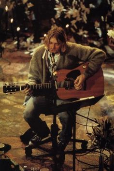 Kurt Cobain, MTV Unplugged, 1994.