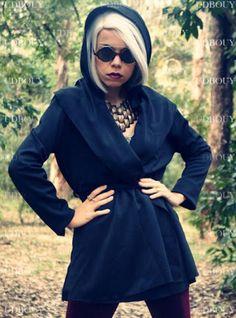 Priscila Alcantara Diniz In Hooded Discount Long Coat Outerwear  ($38, originality   $45.6) http://udobuy.com/goods-12332.html#.UjLgOdL8m9M